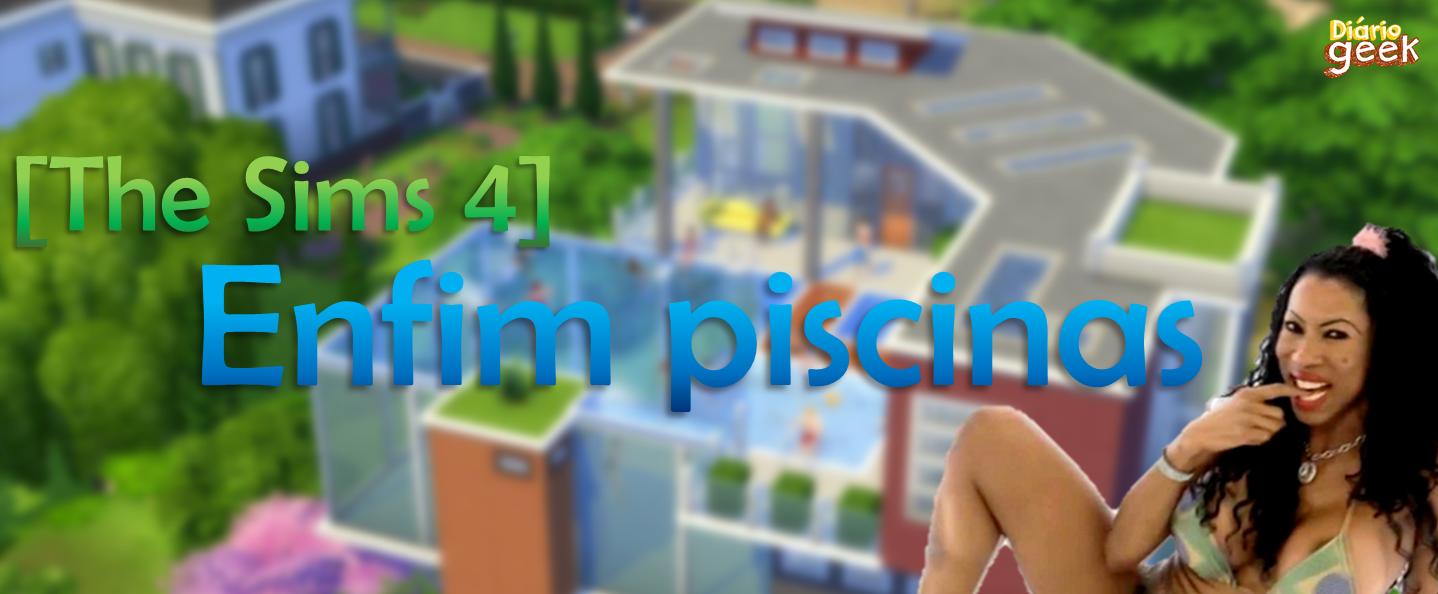 Ea games di rio geek for Piscina sims 4