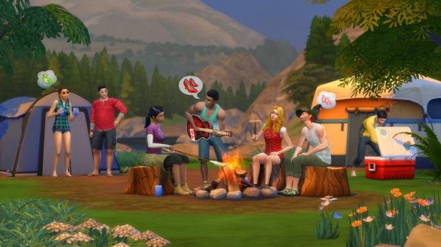 The Sims 4 Retiro Ao Ar Livre