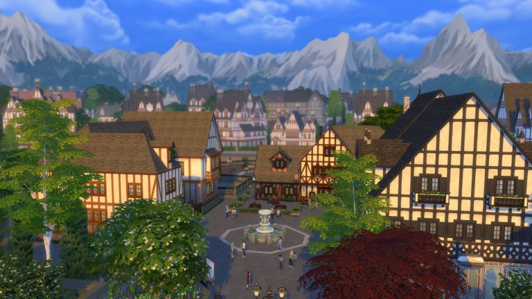 The Sims 4 Wildenburg