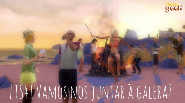 TOPO - The Sims 4 Junte-se a Galera